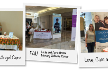 "Angel Care sponsors FAU's Louis and Anne Green Memory and Wellness Center's ""Keep Memories Alive"" event"
